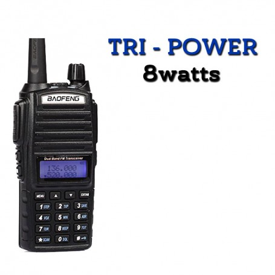 Radio Baofeng UV-82 Tripower 8W