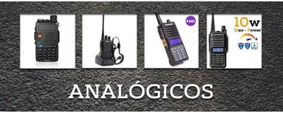 Radios analogicos de Baofeng en Chile