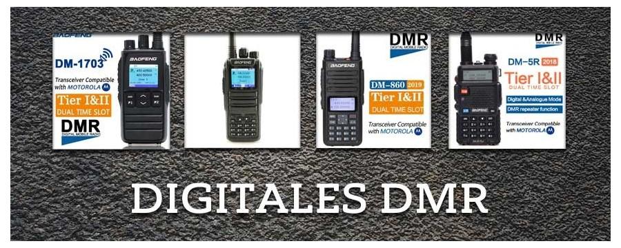Radios DMR en el store oficial de Baofeng en Chile