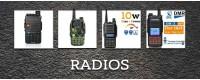 Radios y walkie talkies Baofeng en Chile.
